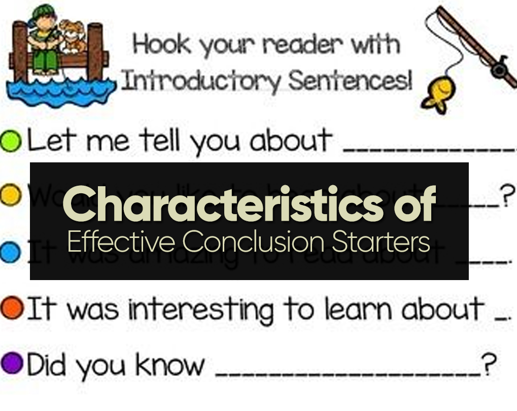 Conclusion Sentence Starters