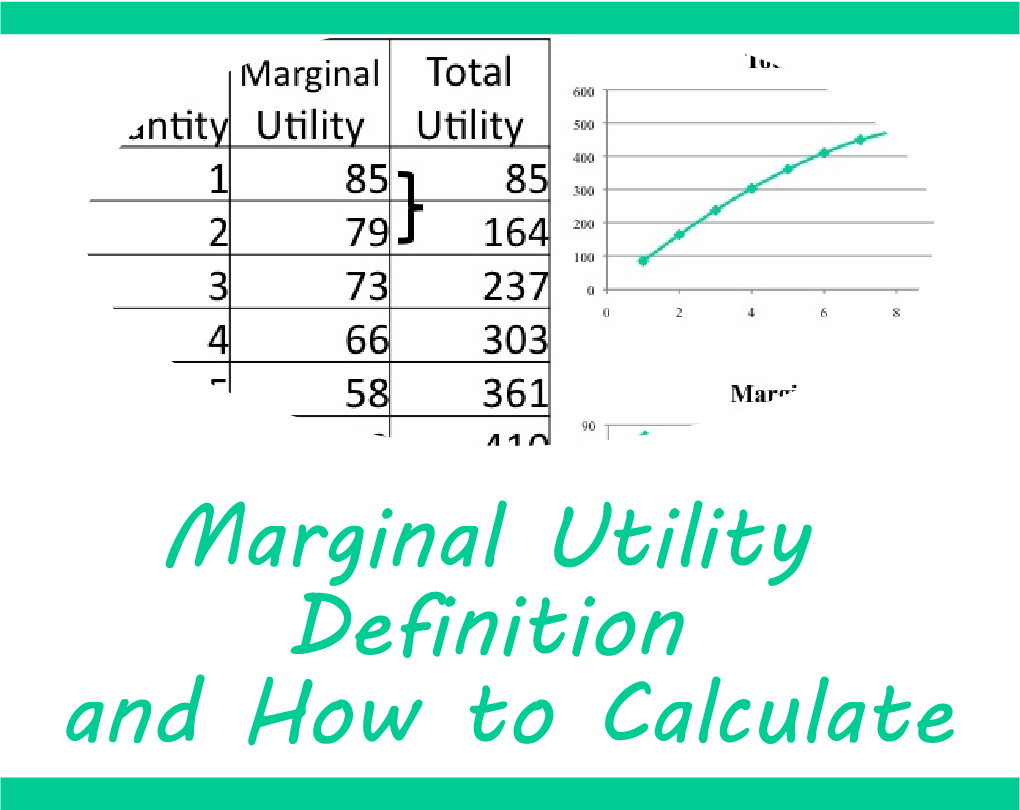 Marginal Utility – Definition and How to Calculate